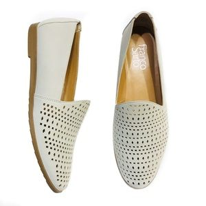 Franco Sarto perforated frontier flats
